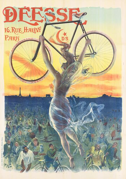 fotomester antik plakat cykel cykler reklame