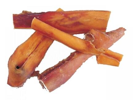 Tikki-naturlige-hundegodbidder-oksehovedhud-pandelapper-500-gram