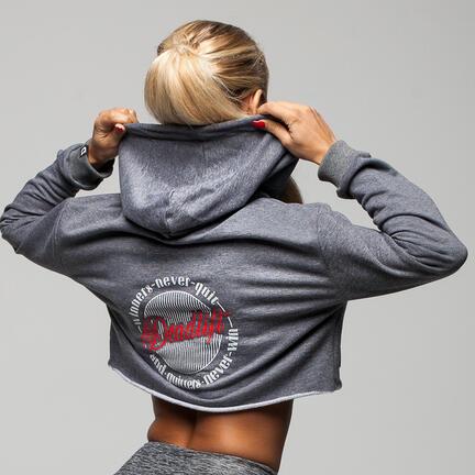 Stony Sportswear, Deadlift, Hættetrøje Grå