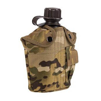 Mil-tec - Feltflaske med Taske (Multitarn)