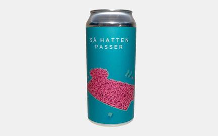 Så hatten passer øl fra Ølsnedkeren ·Beer Me