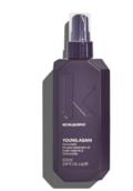 YOUNG.AGAIN.WASH & YOUNG.AGAIN.RINSEYOUNG.AGAIN.WASH er en genopbyggende og blødgørende shampoo, der styrker og forbereder håret til at modtage de essentielle ingredienser i MASQUE. Shampooen efterlader håret blødt, og tilfører fugt og elasticitet til hår
