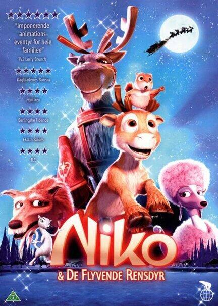 Nico og de flyvende rensdyr dvd