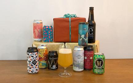 Fantastik gave med øl · 6 blandede specialøl hver måned i 3 måneder