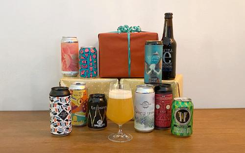 6 blandede øl hver måned i 3 måneder