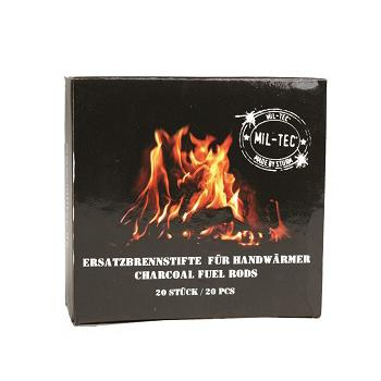 Mil-tec - Kulstænger til Håndvarmer (20-pak)