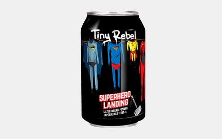 Super Hero Landing - Imperial Milk Stout fra Tiny Rebel