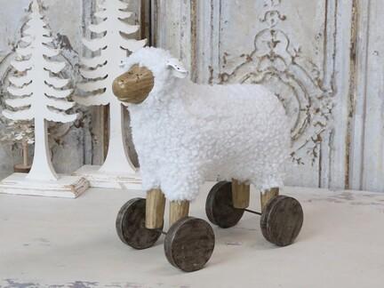 Får på hjul, fra Chic Antique