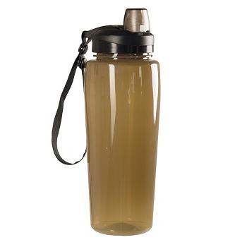 Mil-tec - Transparent Drikkeflaske (Coyote)