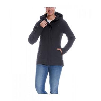 Tatonka - Jons W's Hooded Jacket Dark Black