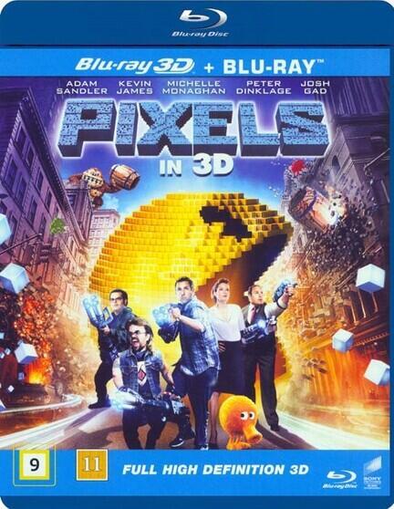 Pixels, Bluray, Movie, Movie