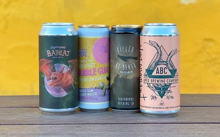 4 øl fra bryggerier i vores naboland
