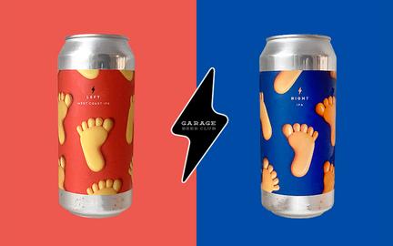 Left & Right fra Garage Beer Co.