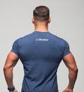 Stony Sportswear, Deadlift, T-Shirt Blå 2