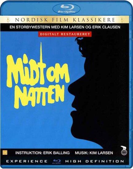 Midt om natten, Bluray, Movie, Erik Balling, Ove Sprogø, Kim Larsen, Poul Bundgaard, Buster Larsen, Frits Helmuth, Birgitte Raaberg