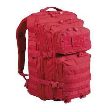 Mil-tec - US Assault Pack Large (Signal Rød)
