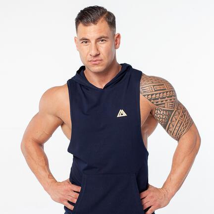 Stony Sportswear, Deadlift, Boxer Origin med Hætte Marineblå