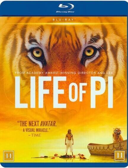 Life of Pi, Bluray, Movie,
