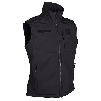 Mil-tec - Softshell Vest (Sort)