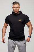 Stony Sportswear, Deadlift, Herre T-shirts med hætte Front