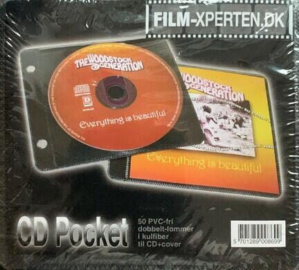 DVD lommer, DVD opbevering