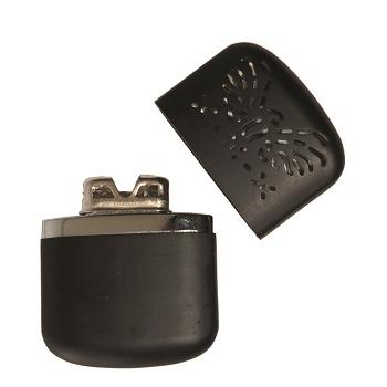 Mil-tec - Pro Håndvarmer til Lighter Benzin (Sort)