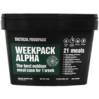 Tactical Foodpack Weekpack Alpha