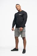 Bolt Langærmet T-shirt Sort Body pic