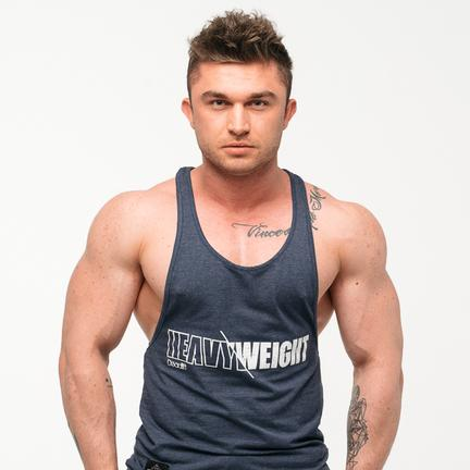"Stony Sportswear, Deadlift, Tank top ""Heavy"" Nayv Blue"
