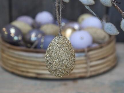 Æg med perler fra Chic Antique
