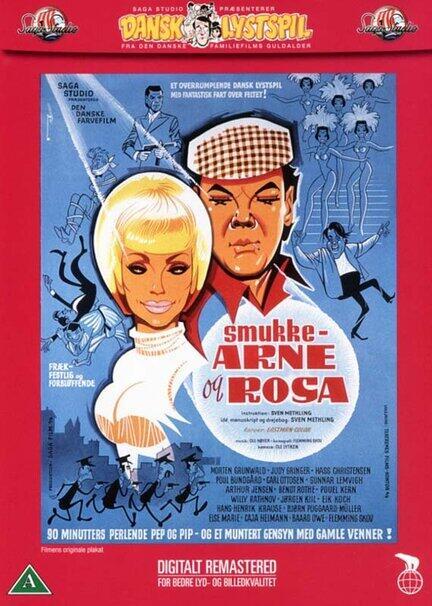 Smukke Arne og Rosa, DVD Film, Movie