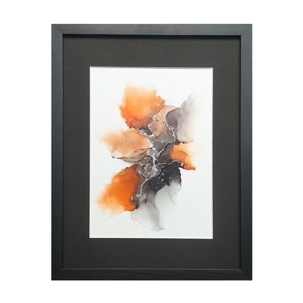 maleri orange sort