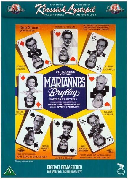 Mariannes Bryllup, DVD