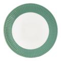 GreenGate dinner plate Alice dusty green