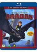 Sådan træner du din drage, How to train your dragon, Bluray, Movie