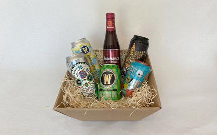Gavekurv med 6 blandede specialøl · Beer Me