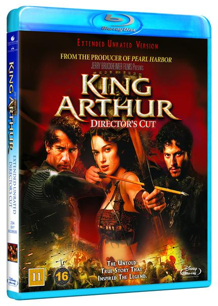 King Arthur, Bluray, Movie
