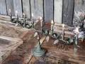Gl. fransk lysestage med 8 lysholdet til kertelys