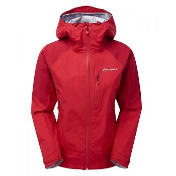 Montane - Fem Ajax Jacket (Alpine Red)