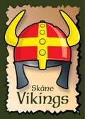 Vikings skaane skåne poster graphic danish design art print plakat helmet © Birger Bromann