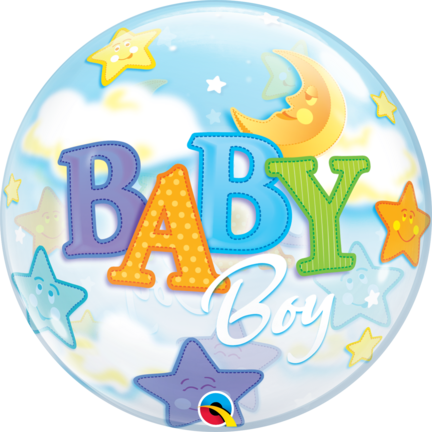 Baby bubble ballon dreng