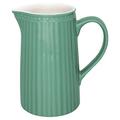 Kande - Jug Alice Dusty green 1L fra GreenGate