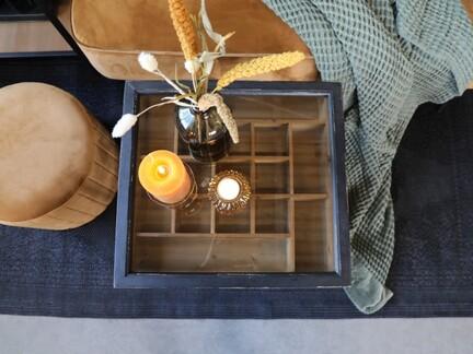 Sofabord med opbevaringsrum, fra Chic Antique