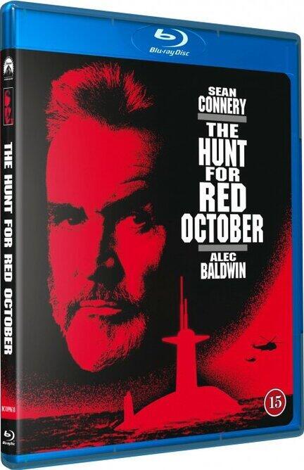 Jagten på Røde Oktober, The Hunt for Red October, Bluray, Movie