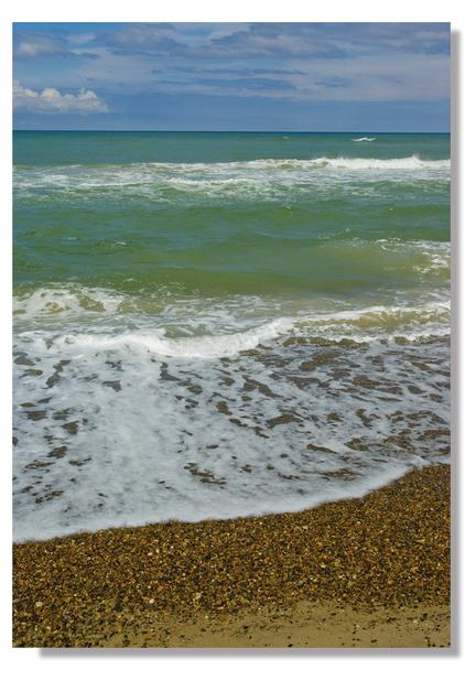 photo poster plakat webshop beach denmark jammerbugten blue green sea