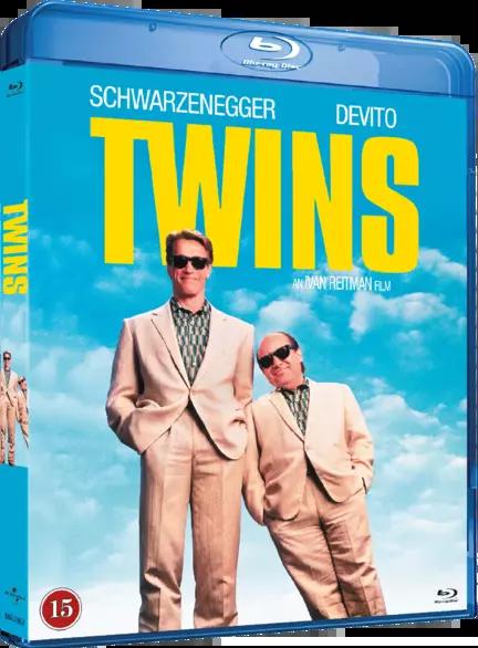 Twins, Tvillinger, Bluray, Movie
