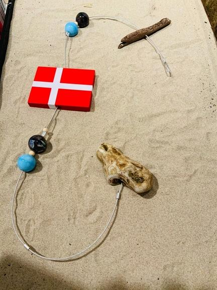 flag på snor