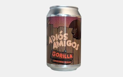 Adiós Amigos - Chocolate Stout fra Gorilla