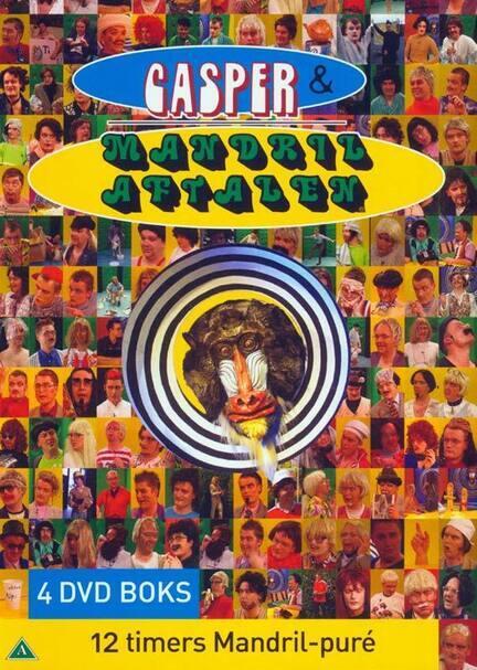 Casper og Mandrilaftalen, DVD Film