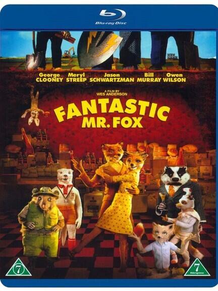 Fantastic Mr. Fox, Bluray, Movie